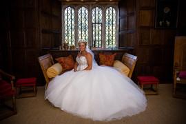 Bride at Llancaiach Fawr
