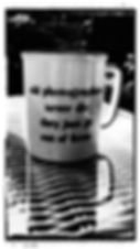 Mug with photographers logo