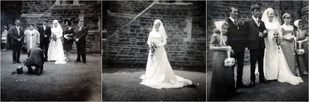 35MM wedding photography in the 70s