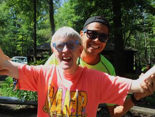 Preforming Skits at Camp!