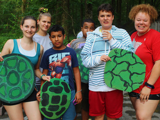 Youth Session ends with a Ninja Turtles Banquet!