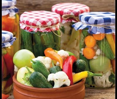 les légumes lactofermentés🍆🥦🥕
