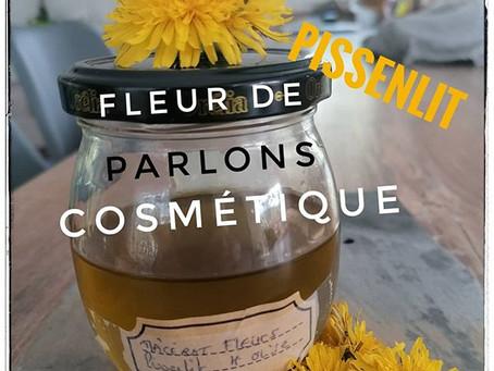 Parlons cosmétique avec notre Fleur de pissenlit.