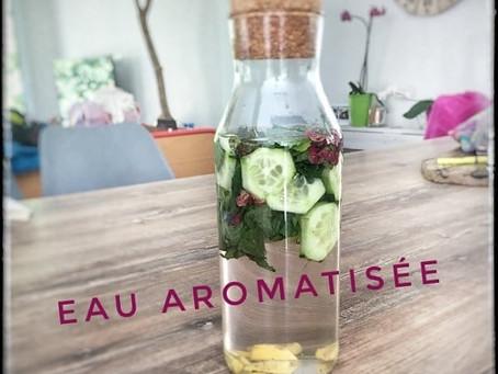 Eau aromatisée 🍈🌺🌿