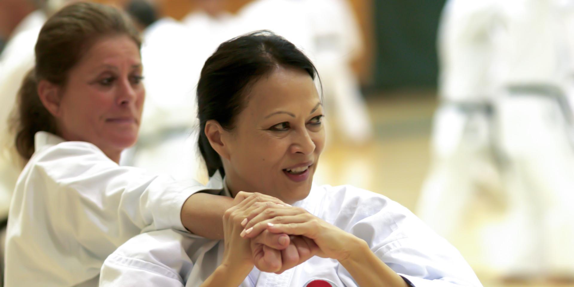 Sensei Carol See Tai @ 2018 JKA/AF National Camp