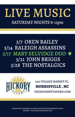 HICKORY TAVERN March-2