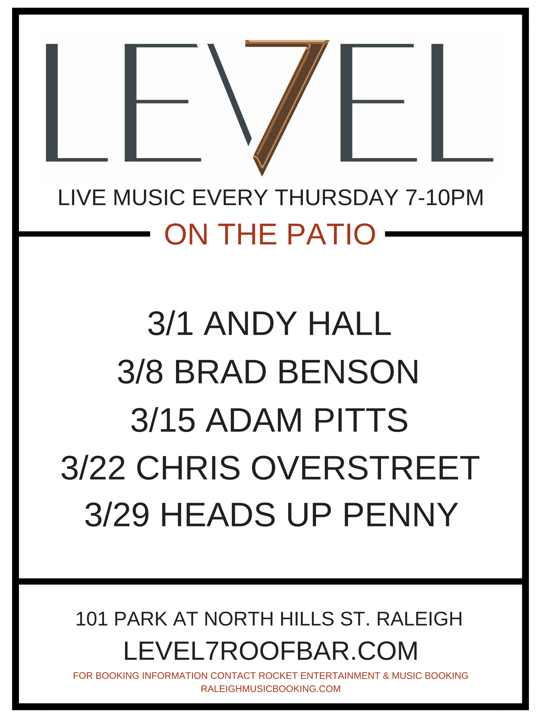 LEVEL 7 MARCH