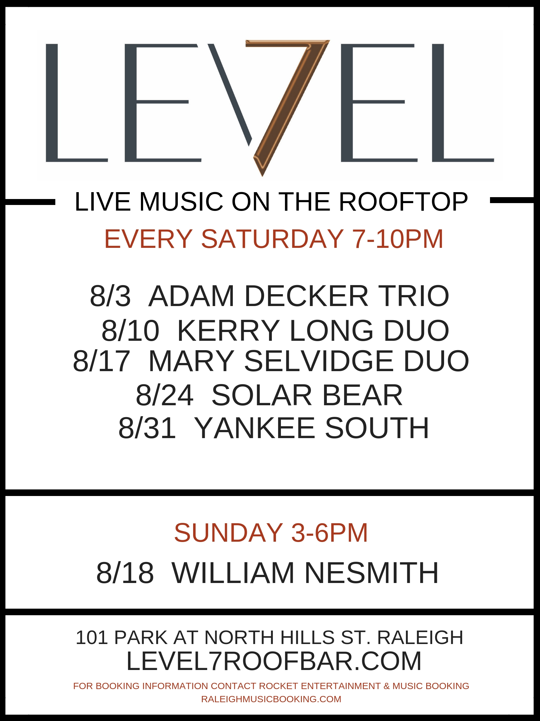 LEVEL 7 AUGUST