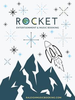 rocket w_ earth and moon