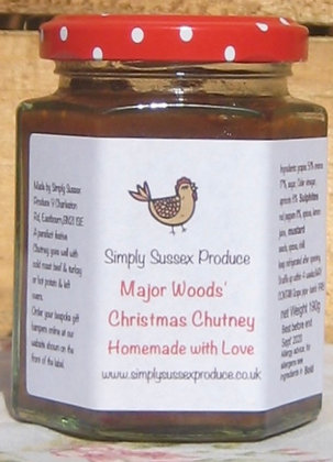 Major Woods Christmas Chutney