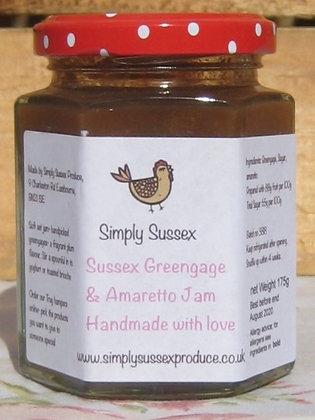 Sussex Greengage & Amaretto Jam