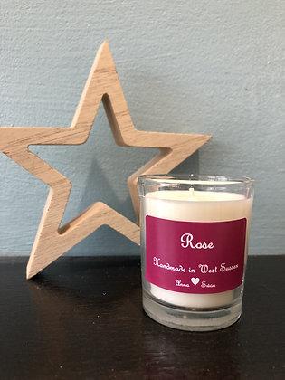 Rose Votive candle