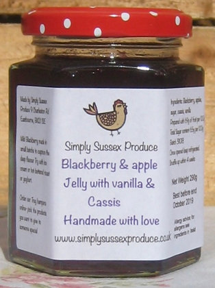 Simply Sussex Blackberry Apple & Cassis Jelly