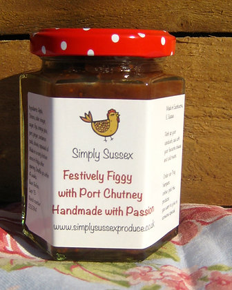 Fig and red onion  Chutney