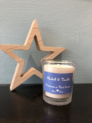 Bluebell & Vanilla votive Candle