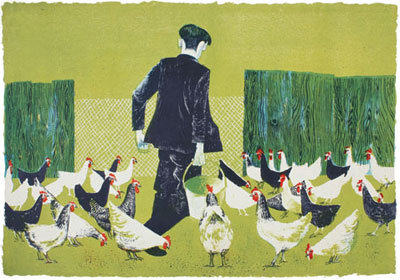 'Farmyard' Gift Card