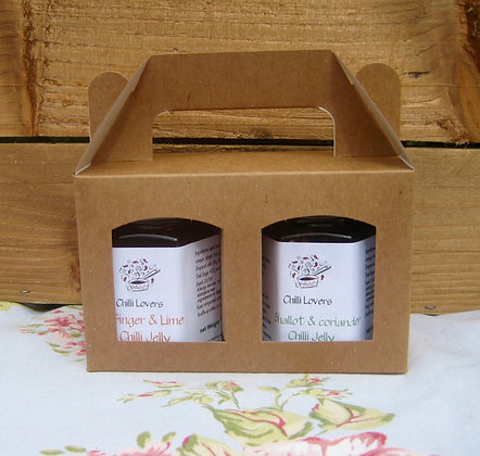 Chilli lovers Duo gift pack
