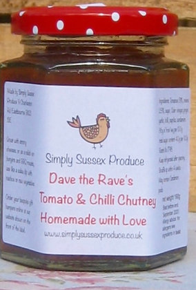 Dave the Rave's Tomato & Chilli Chutney