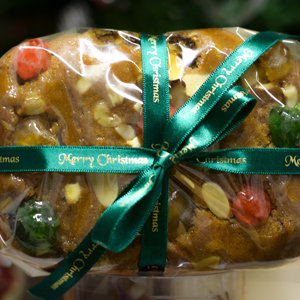 Christmas  Fruit & almonds cake