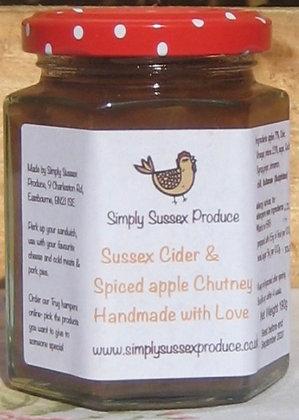 Simply Sussex Cider & Apple Chutney