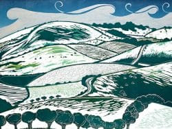 Snow on the Downs gift card