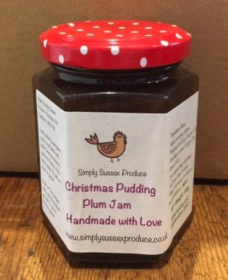 Christmas pudding Plum Jam