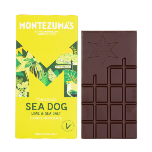 Dark Chocolate with Lime and Sea salt