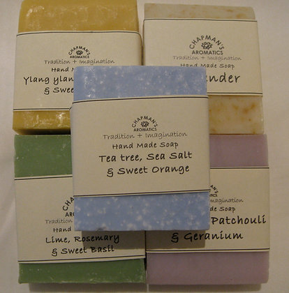 Tea tree, sea salt sweet orange soap