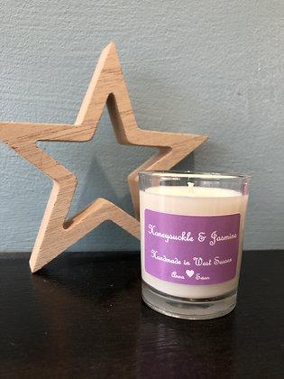 Honeysuckle & Jasmine votive candle