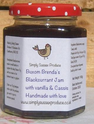 Blackcurrant vanilla & cassis Jam