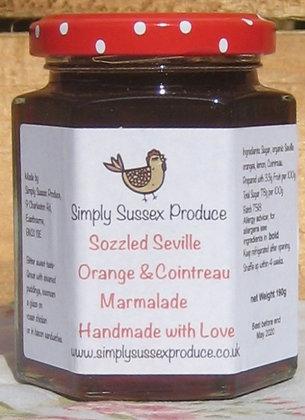 Sozzled Seville & Cointreau Marmalade