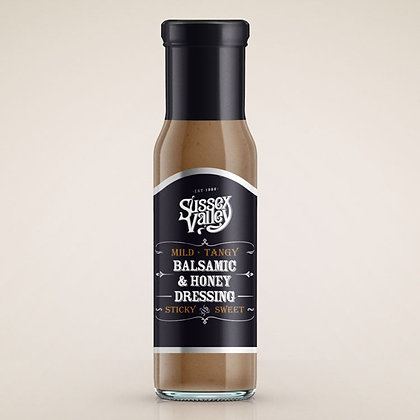 Sussex Valley Balsamic & Honey dressing