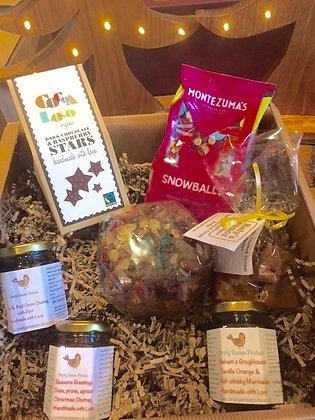 Medium festive gift box