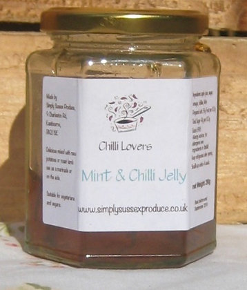 Chilli Lovers Mint & chilli Jelly