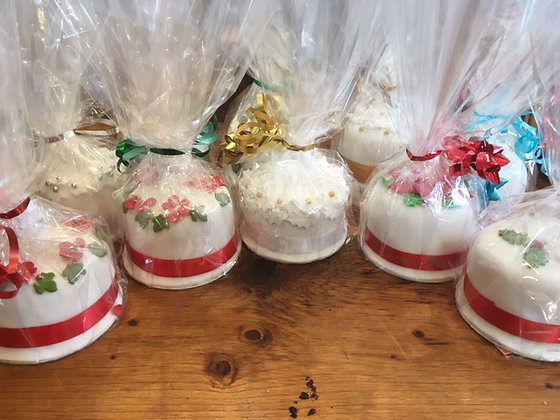 Traditional rum fed fruit Christmas cakes