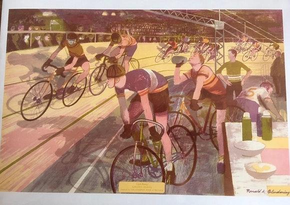 Cycle racing gift card
