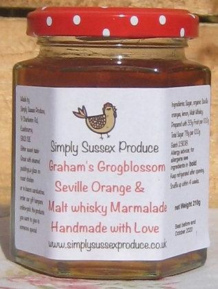 Graham's grog blossom Seville Orange & whisky