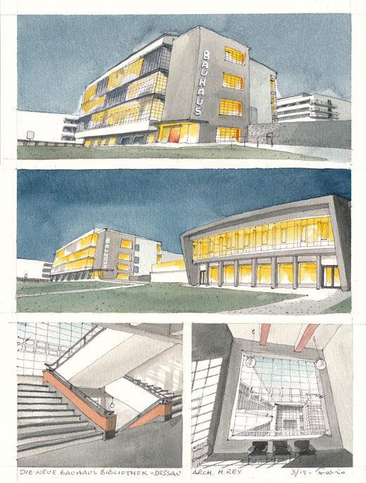 Dessau _ Die Neue Bibliothek