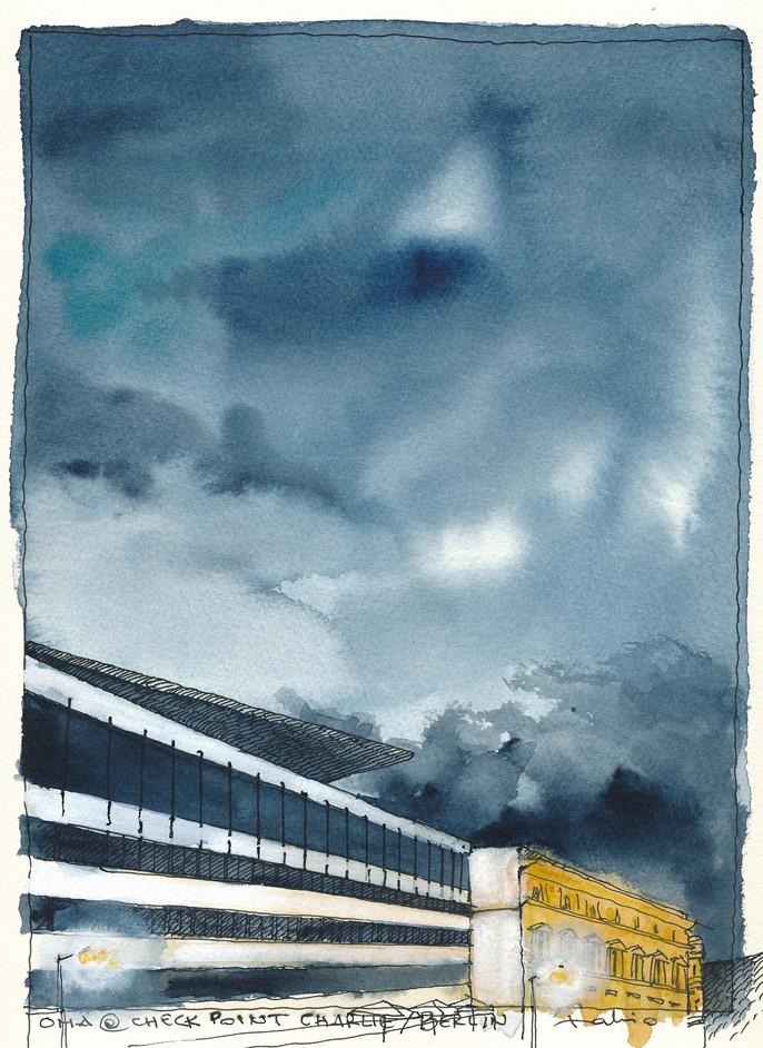 Berlin _ OMA @ Checkpoint Charlie