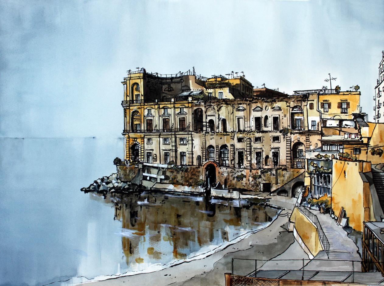 Napoli - Palazzo Donn'Anna
