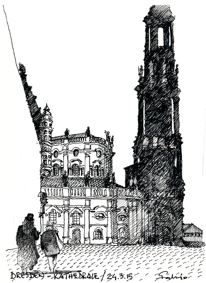 Dresden - Kathedrale