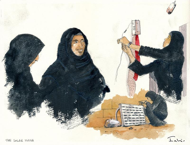 Women of Jordan _ Solar Mama #5
