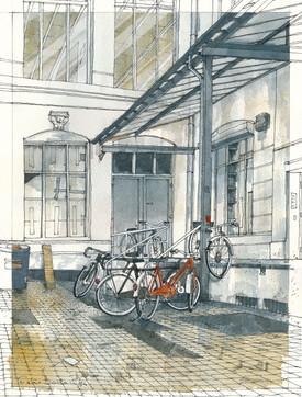 Hamburg _ Courtyard