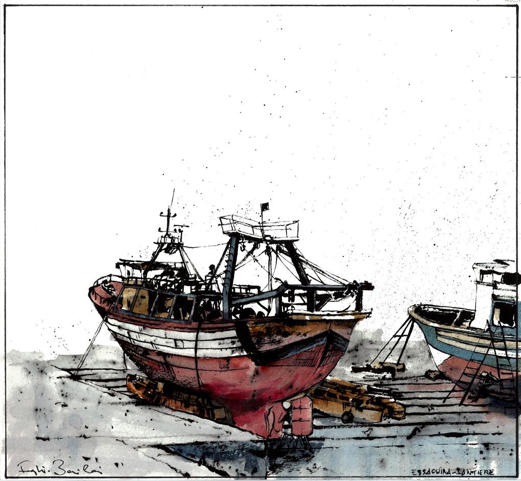 Essaouira - Boat
