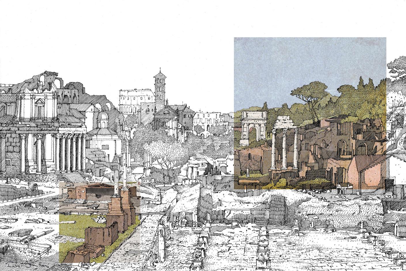F Barilari - Roma, i Fori - color.jpg