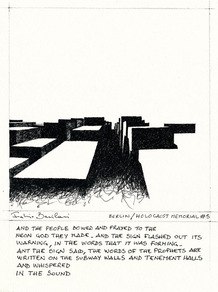Berlin _ Holocaust Memorial #5