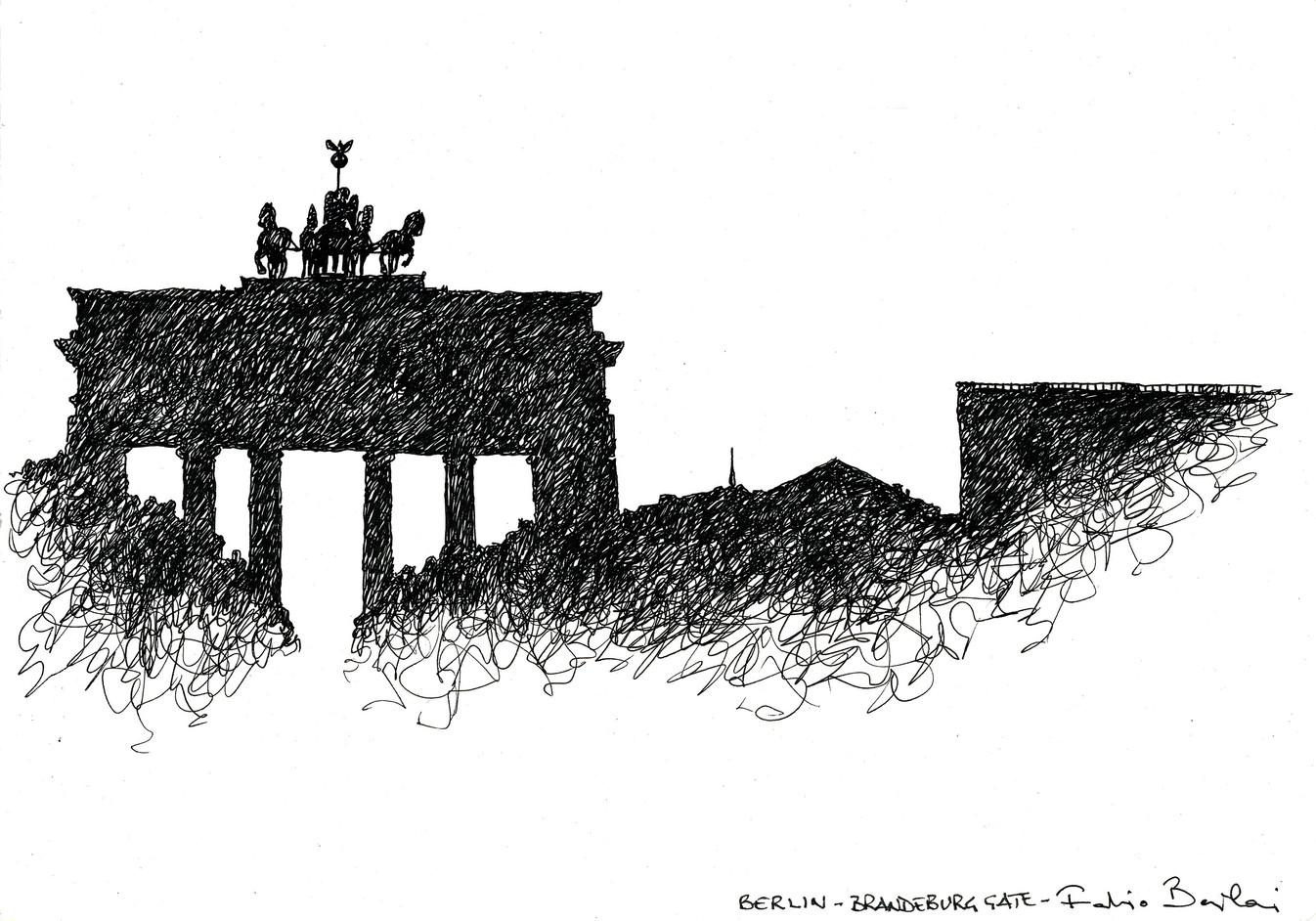 Berlin _ Brandeburg Gate