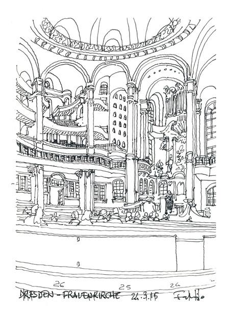 Dresden - Freuenkirche