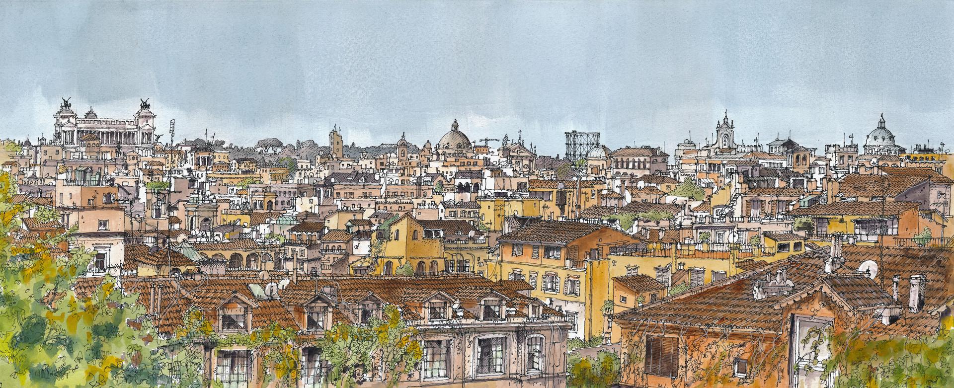 Roma _ Skyline #2
