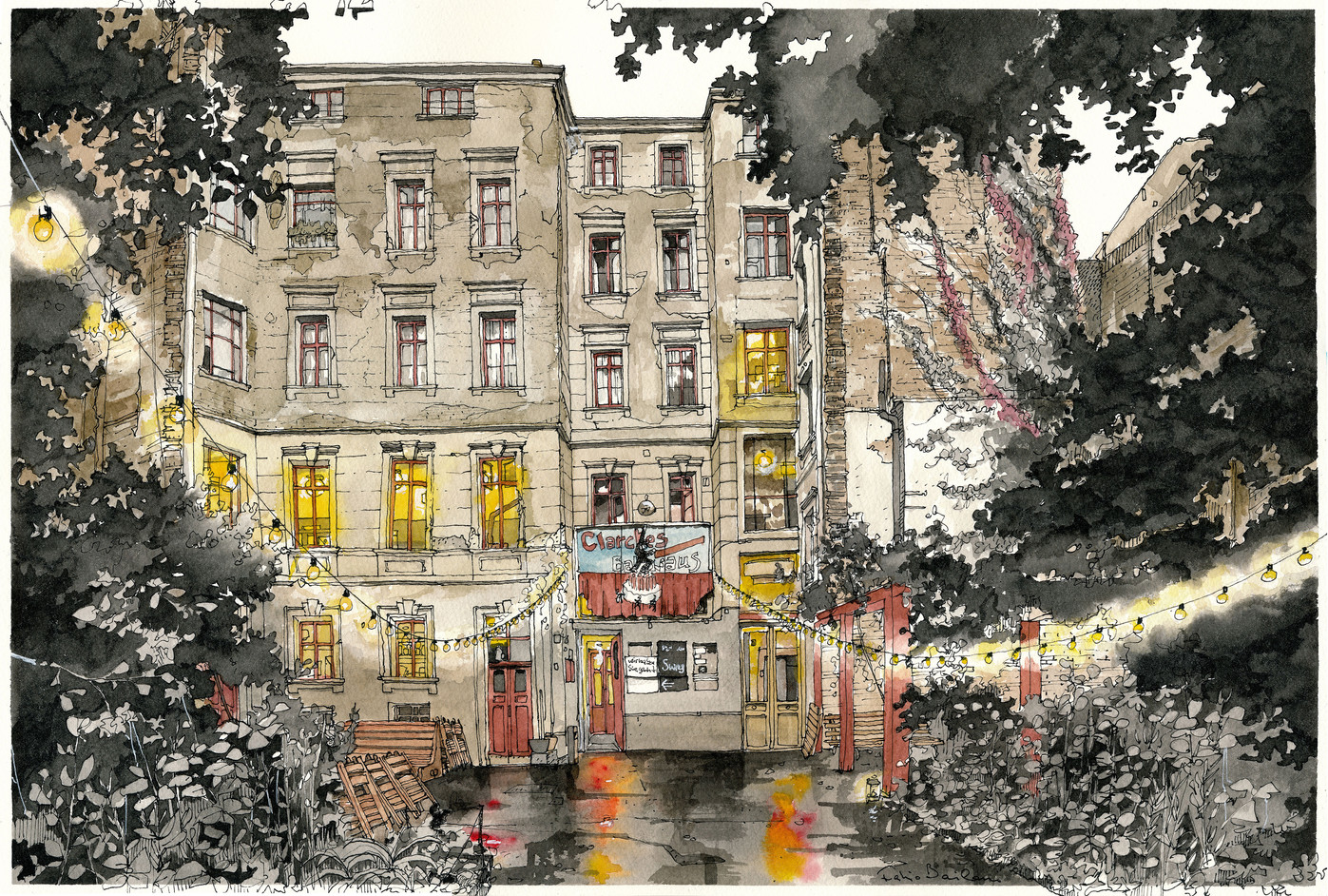 Berlin - Clarchens Ballhaus